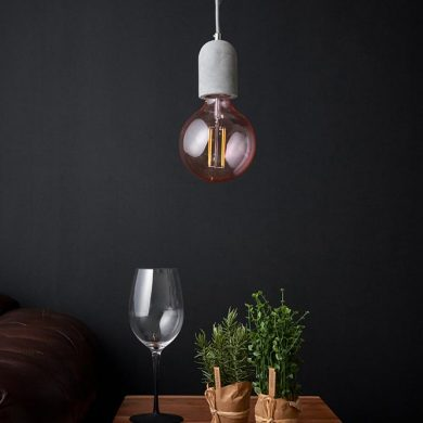 Concrete light fitting