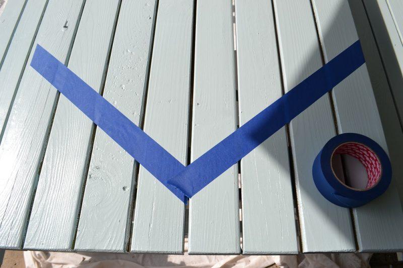 Outdoor masking tape