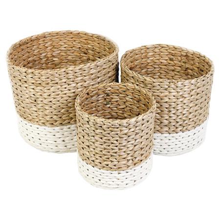 Baskets round
