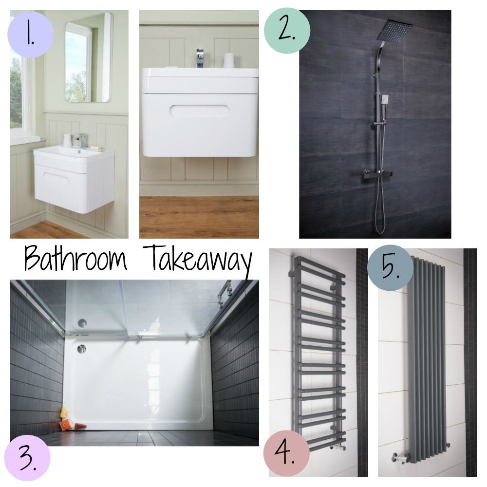 Bathroom Takeaway shower room products