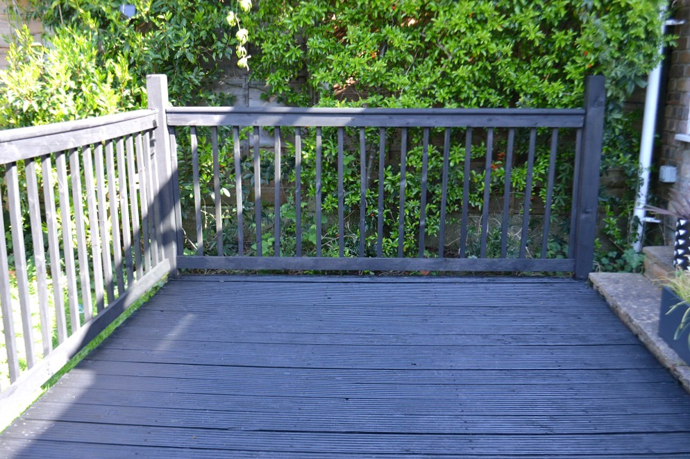 black decking stain
