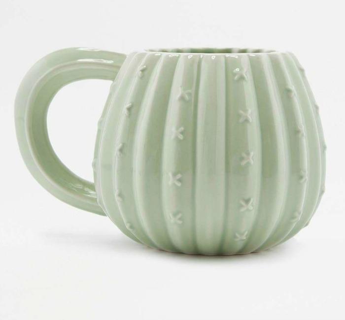 Quirky cactus mug