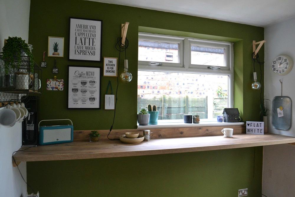 Home coffee counter