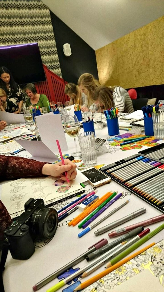Colouring Event London