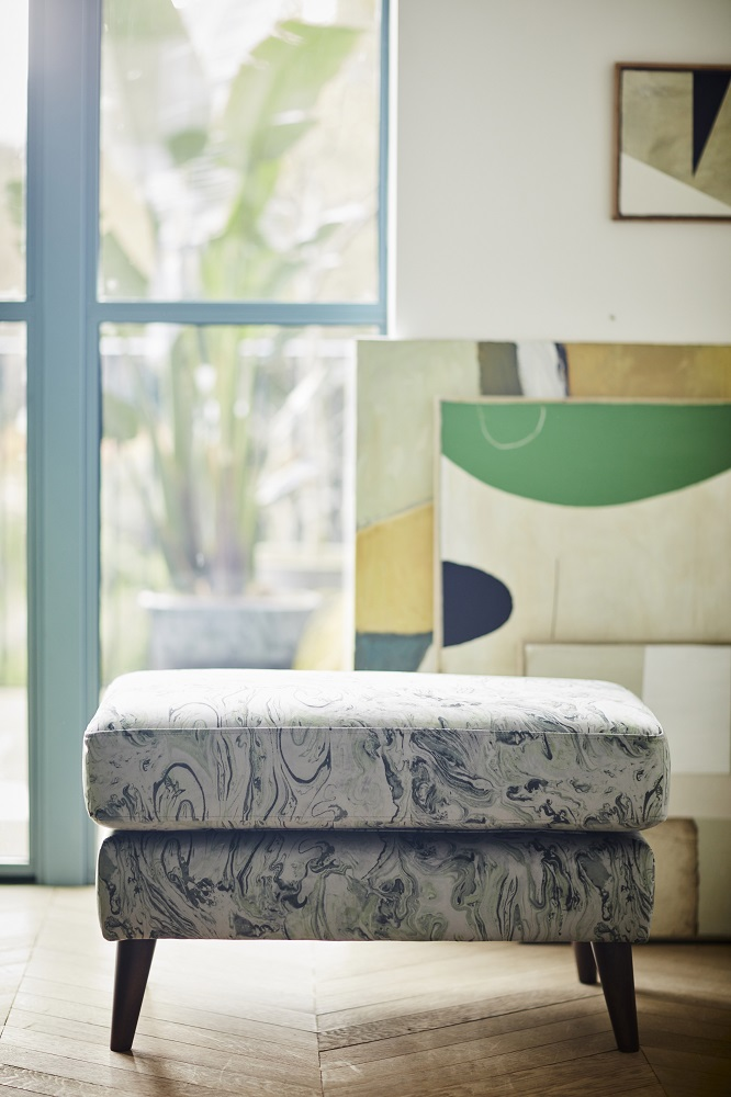 Marble fabric