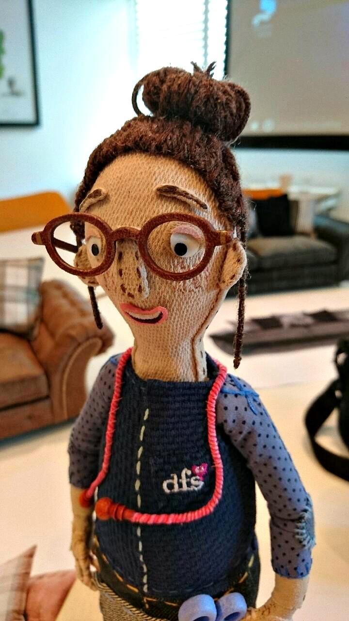 DFS Aardman puppet