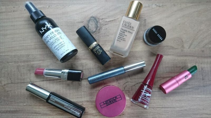 top 10 make up items