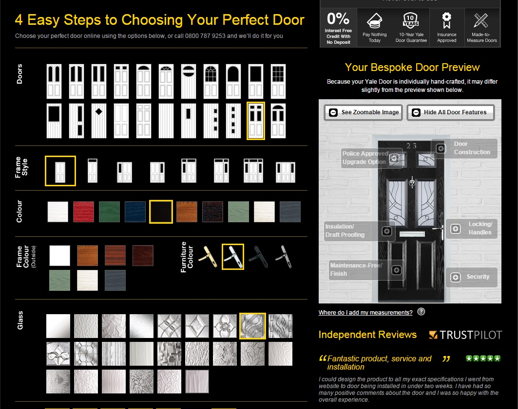 Design your door