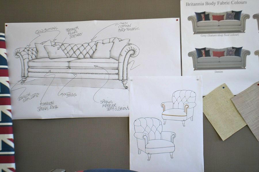 Britannia sofa design DFS