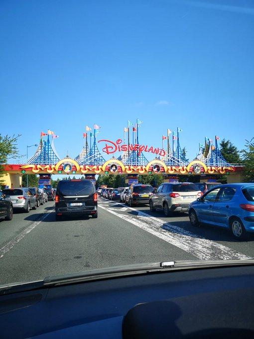 Disneyland Paris Parking