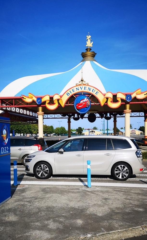 Disneyland Car Park