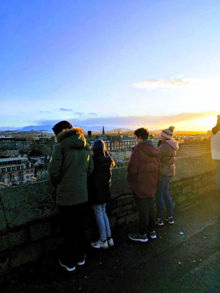 city break to Edinburgh