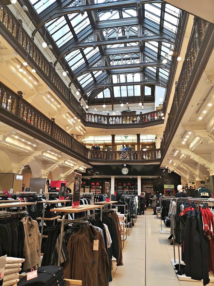 Jenners Department Store Edinburgh