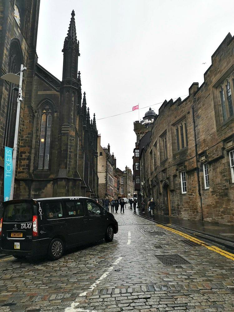 Harry Potter, Edinburgh