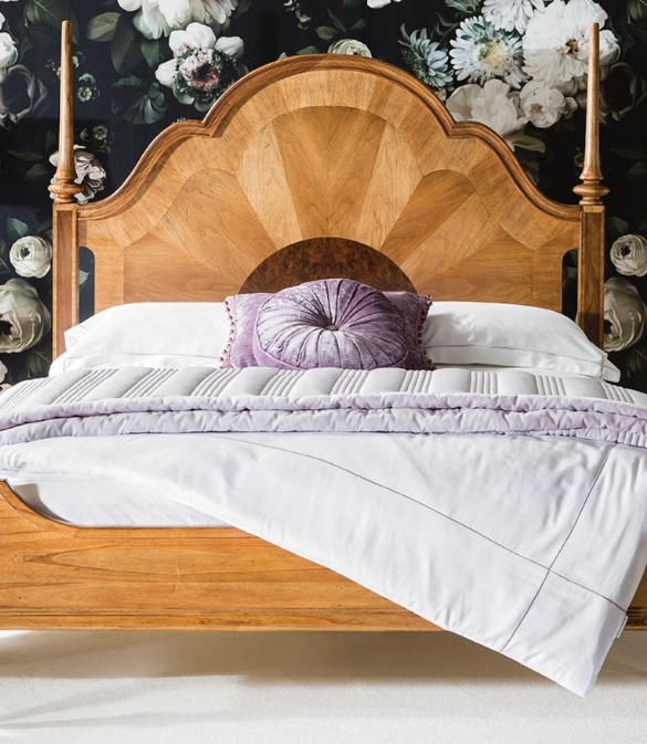 Statement Bed by Frank Hudson