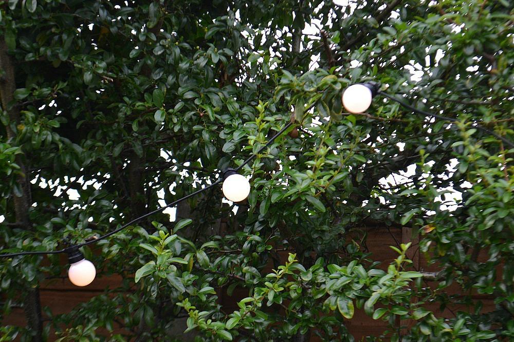 Vintage style string lights
