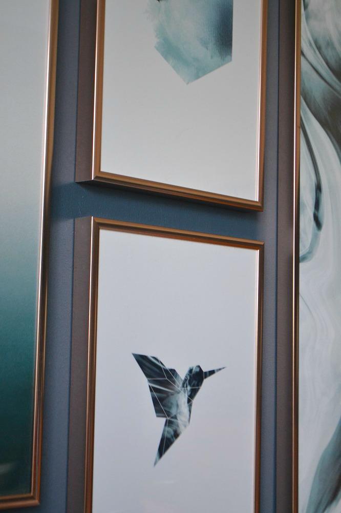 Copper picture frames Desenio