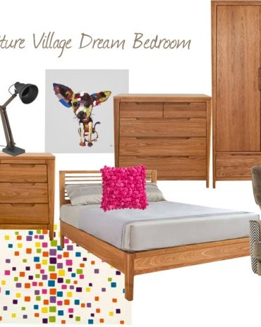 Furniture Village bedroom