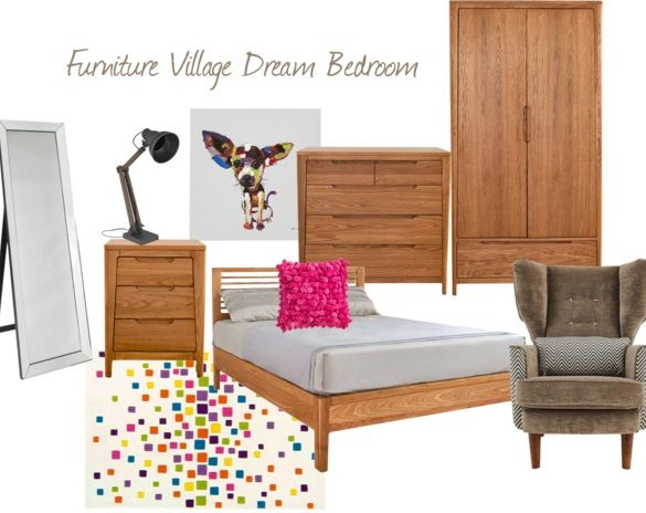 Furniture Village bedroom