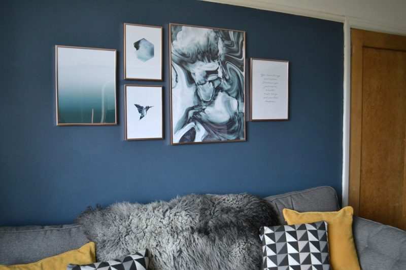 How to create a gallery wall easily