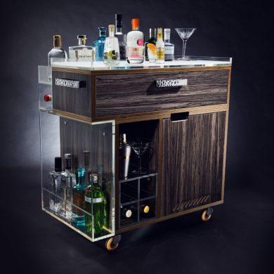Modern Drinks Trolley