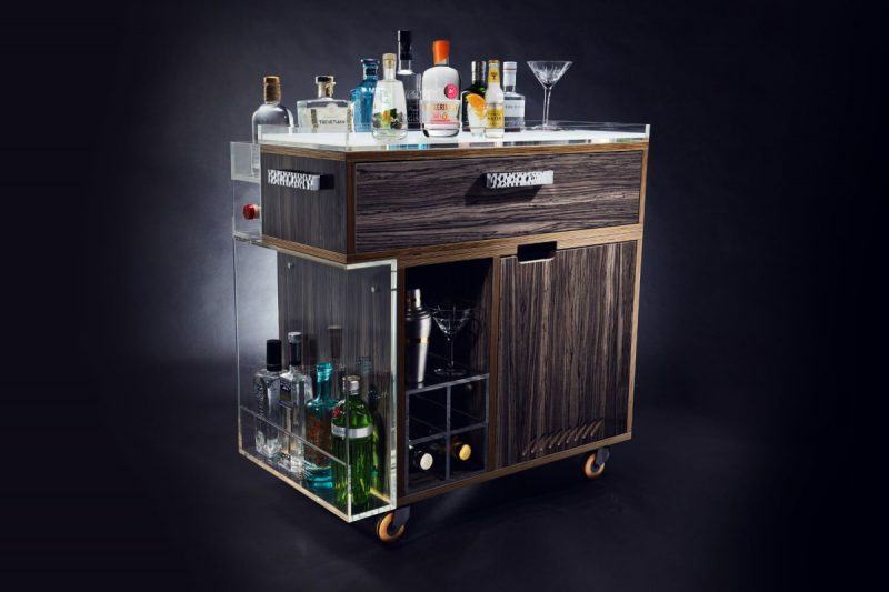 Modern Drinks Trolley