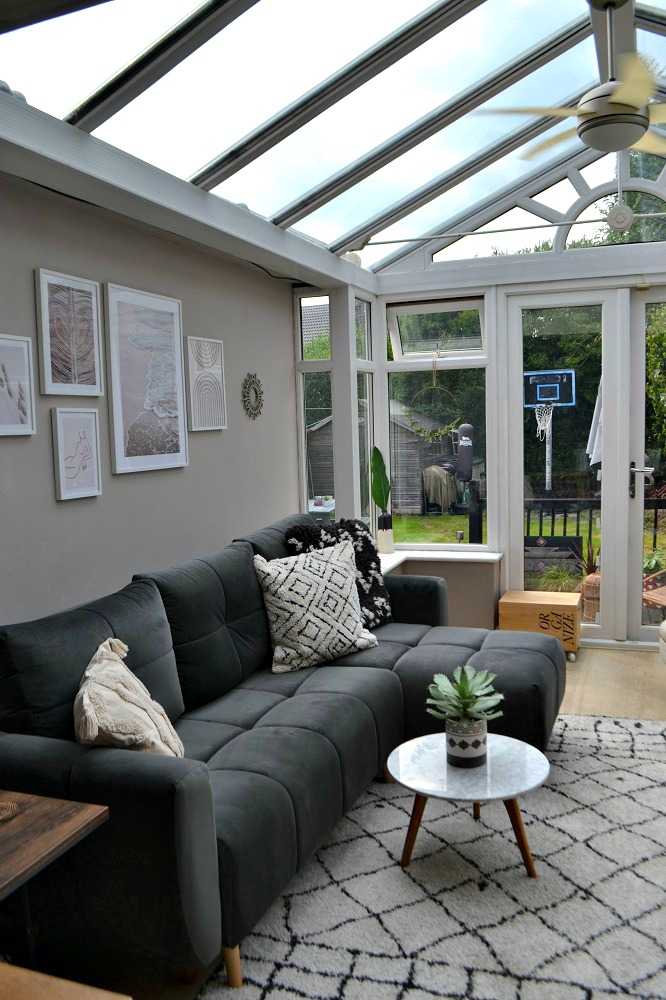 conservatory guest bedroom