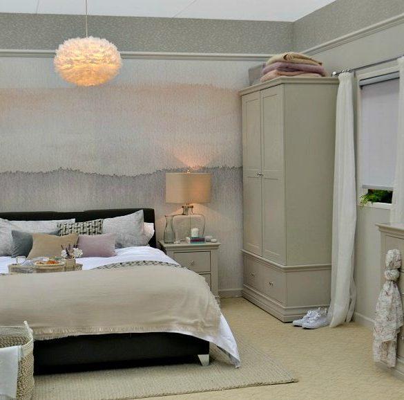 Neutral bedroom design