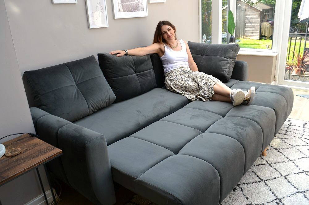 Scandi sofa bed