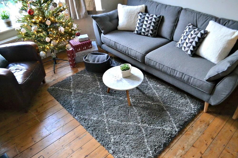 Beni Ourain style rug