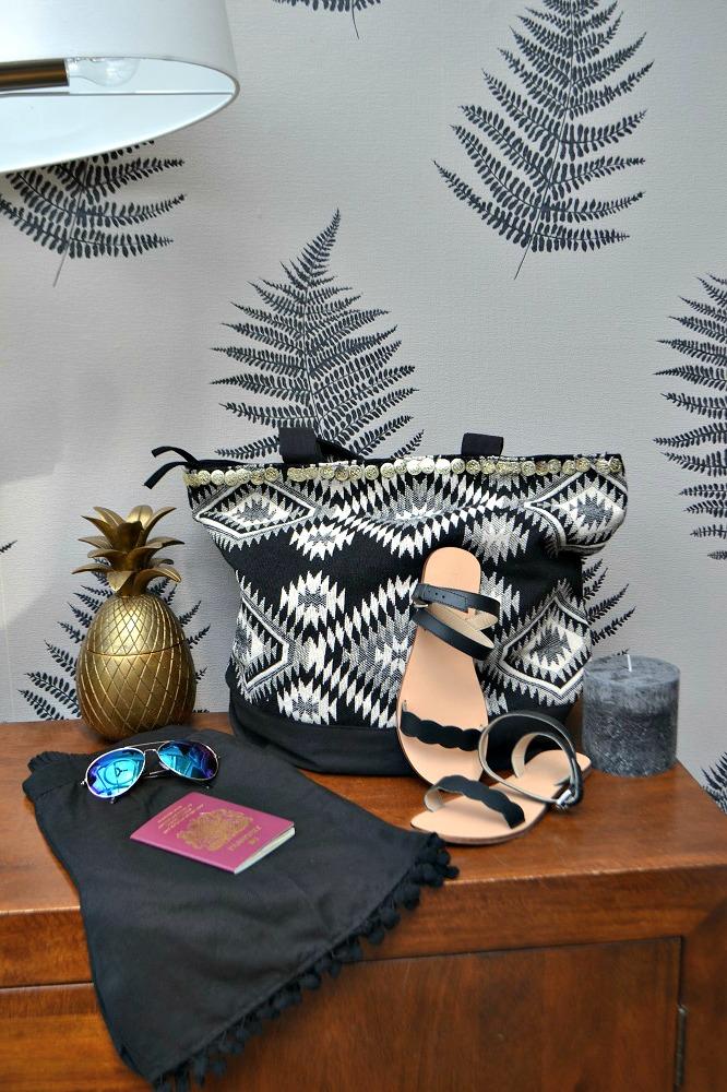 Boho beach bag
