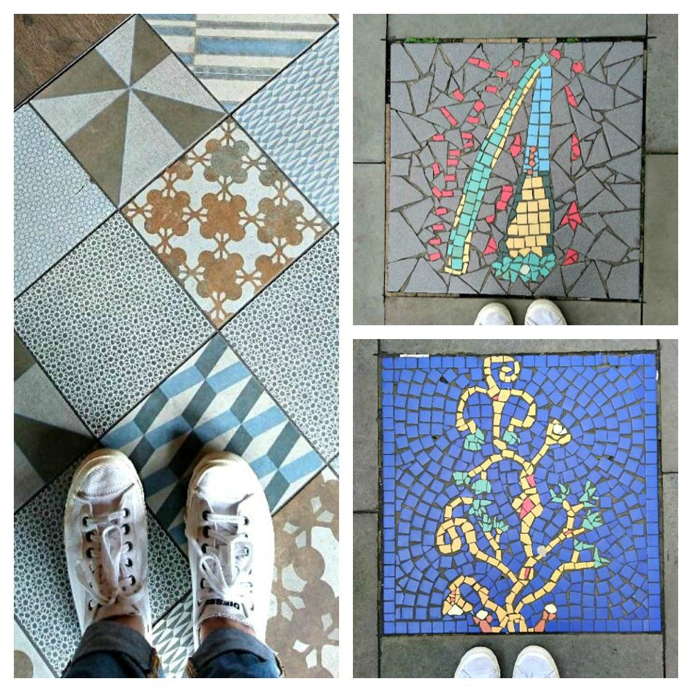Floor Tiles around the Lowry