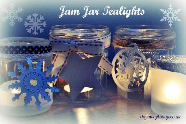 Jam jar candles