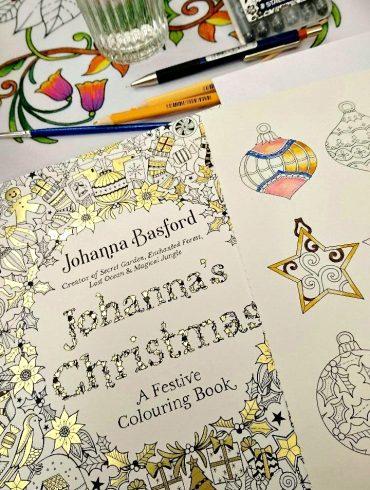 Johanna's Christmas Colouring Book
