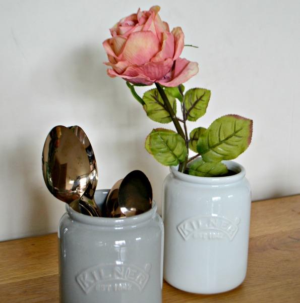 Ceramic vintage jars