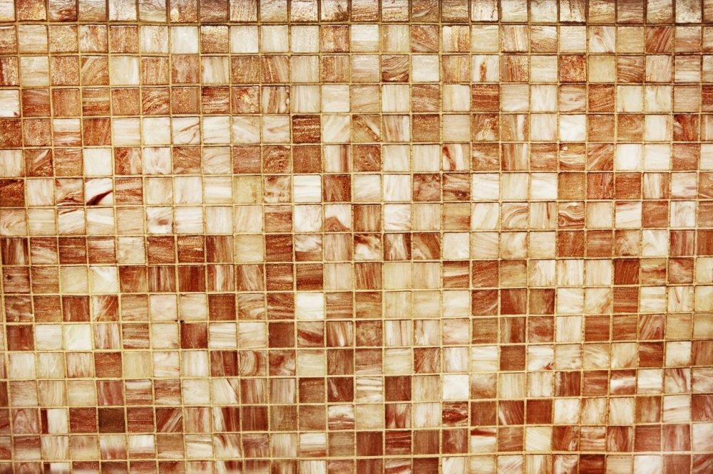 Mosaic tiles bathroom