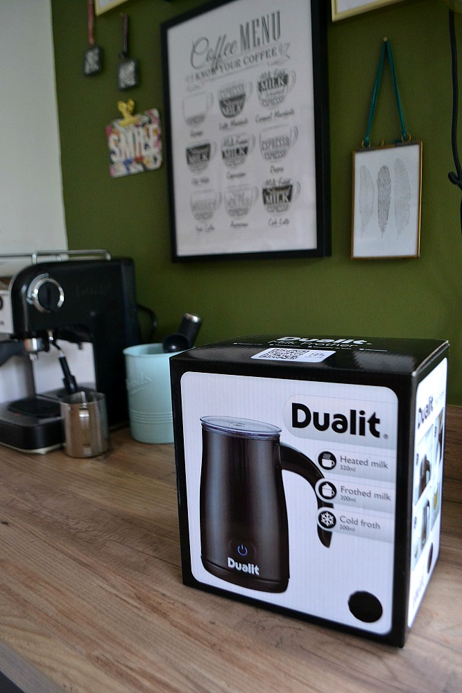 Win a Dualit milk frother