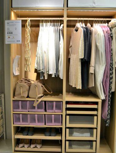 Ikea Pax modular wardrobe