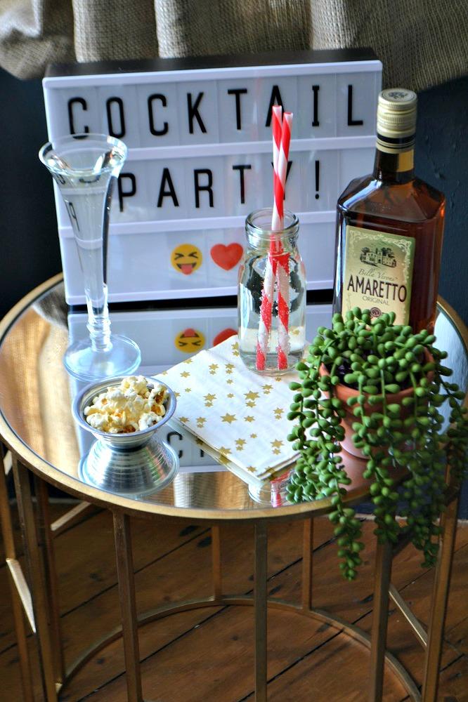 Cocktail party decor