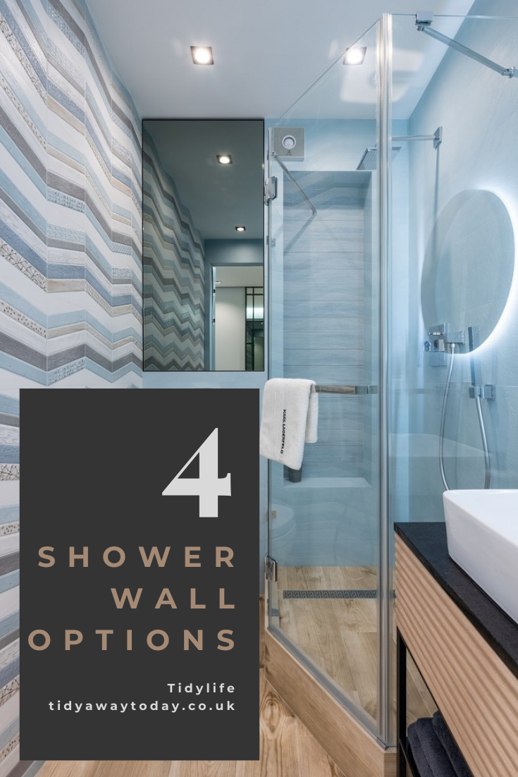 4 shower wall options