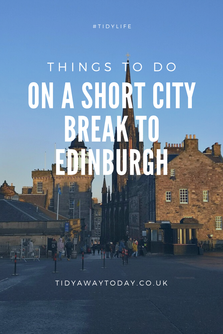Visiting Edinburgh Tips