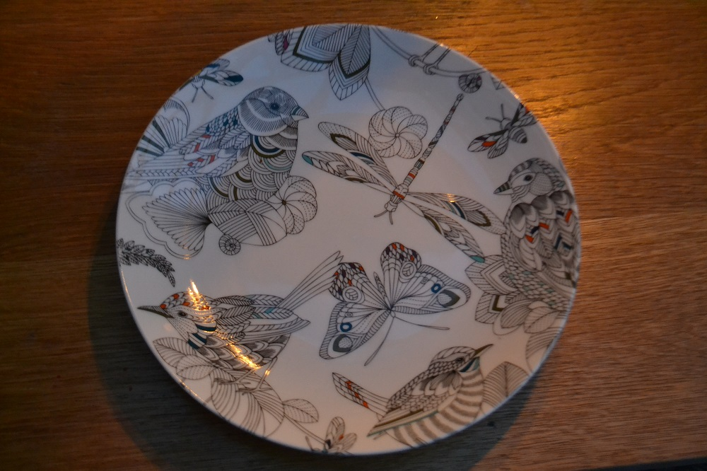 Millie Marotta plate