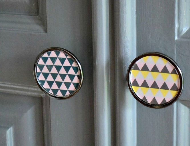 Geometric door knobs