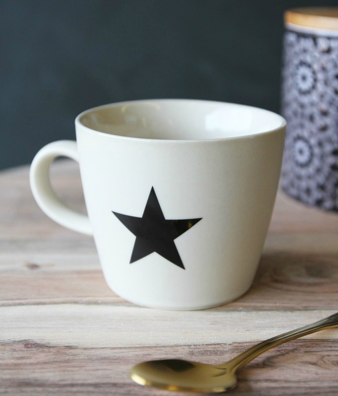 Star mug coffee shop