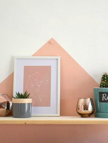 DIY Shelf Scandi style