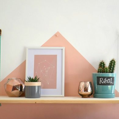 DIY Shelf Scandi style