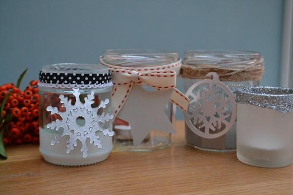 Jam jar decorations