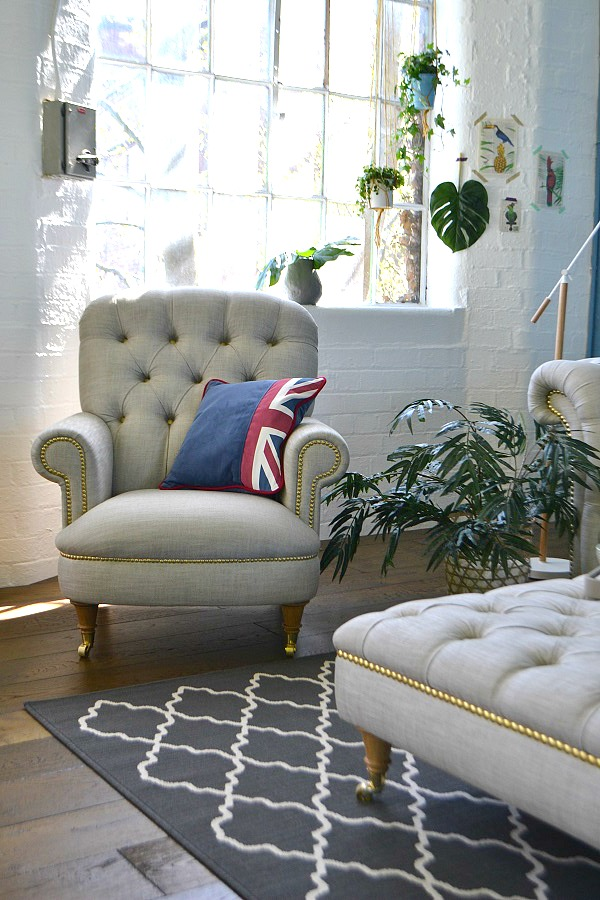 Britannia Armchair DFS Limited Edition