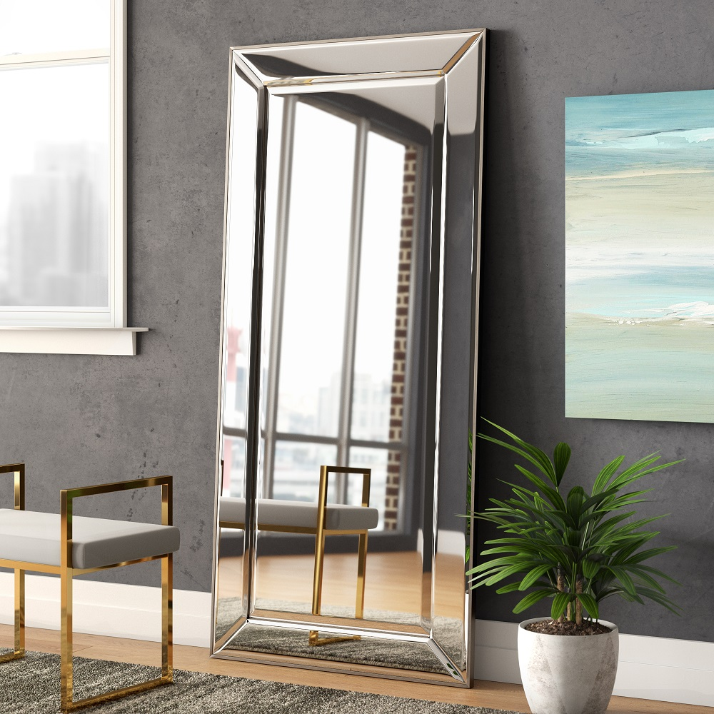 Tall elegant mirror