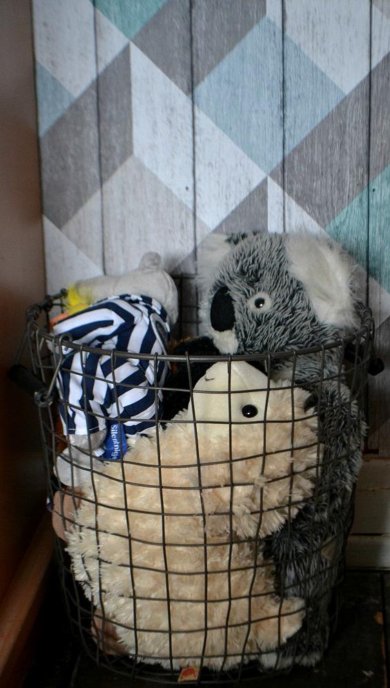 scandi storage basket